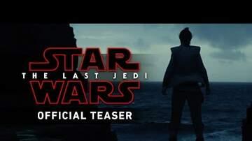 The Daily Drop - Star Wars Drops THE LAST JEDI Trailer