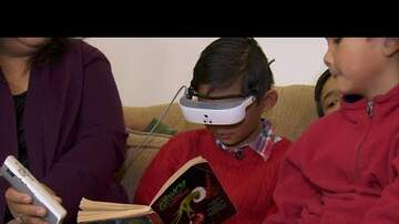 Edison - Blind Boy Gets Glasses for Christmas to Help Him See