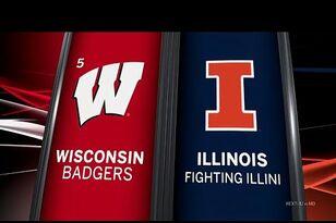 Video Highlights: Wisconsin 24, Illinois 10