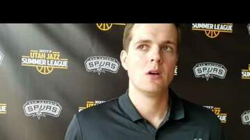 SPURSWATCH - VIDEO: Will Hardy Summer League Post Game