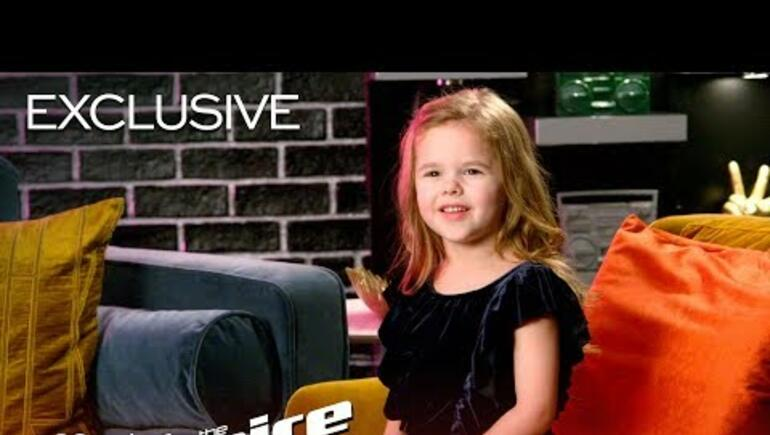 Blake Shelton And Adam Levine Trade Insults Using A Five Year Old!