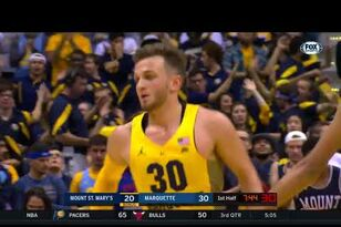 Highlights: Marquette 80, Mount Saint Mary's 59
