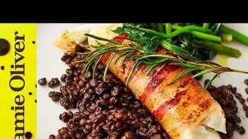 Great Eats - Smoky Pancetta Cod