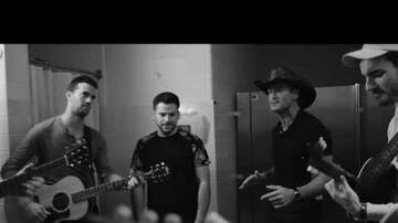 Bob Pickett - Backstage with Tim McGraw
