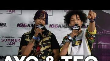 None - Ayo & Teo Talk To Shay Diddy At Summer Jam 2017