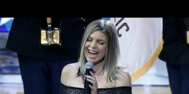 Fergie's rendition of the National Anthem was...interesting?
