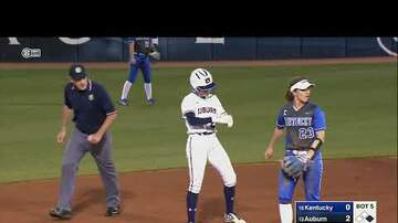 East Alabama Local News - #13 Auburn vs. #18 Kentucky (Softball)