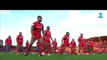 Perry & The Posse - Tonga-Samoa Pregame Showdown Is AWESOME!