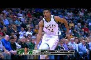 Most Improved Player Contender: Giannis Antetokounmpo