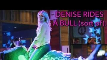 PKTV - The (Almost) Daily Vlog! Denise Rides A Bull (Sort Of).