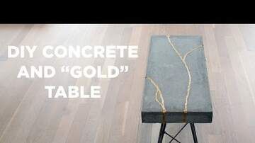 My Home Answer Man - Check Out This DIY Concrete Table