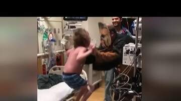 Brian Fink - Doctor Dresses As Chewbacca To Tell Teen He's Getting A New Heart