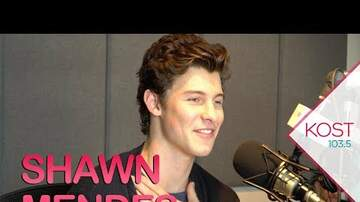 Celebrity Interviews - Shawn Mendes Shares Story Behind Latest Single In My Blood
