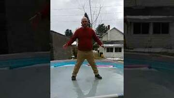 Dave Roberts - Bald Guy Falls Through Swimming Pool Ice