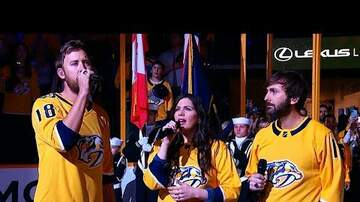 image for Lady Antebellum Flubs The National Anthem
