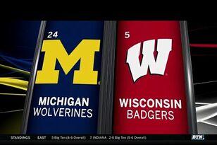Video Highlights: Wisconsin 24, Michigan 10