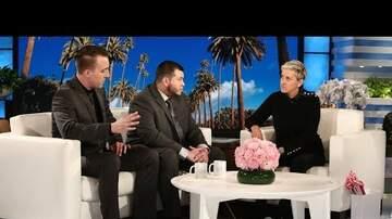 Cyndi - Ellen Talks to Vegas Security Guard, Jesus Campos