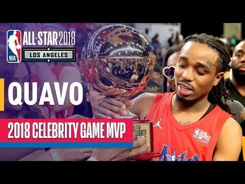 f6f2c5d24f0a WATCH  Quavo 2018 Celebrity Game MVP