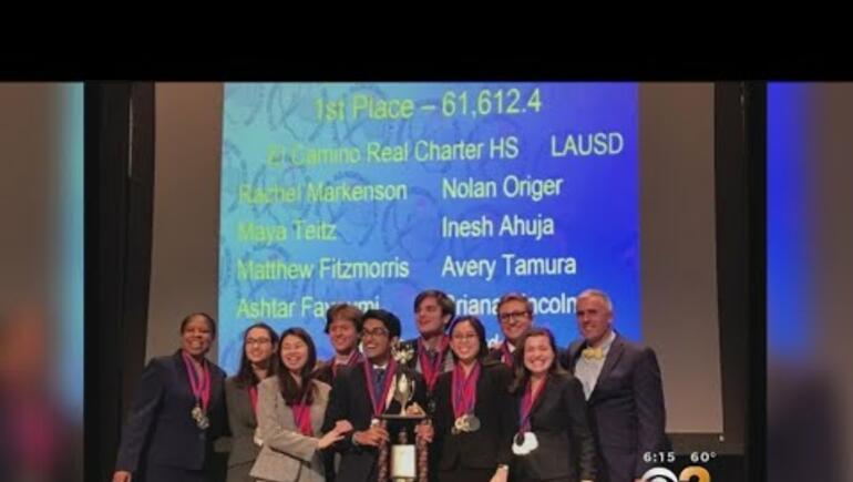 El Camino Real Wins U.S. Academic Decathlon