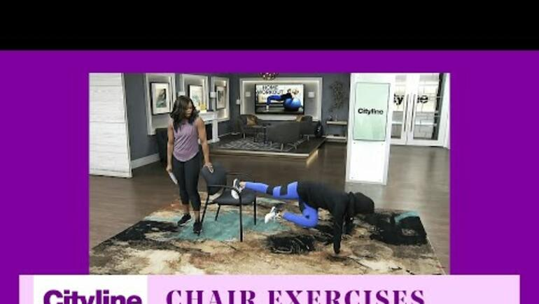 Work Out  Wednesdays: Challenging Chair Workout