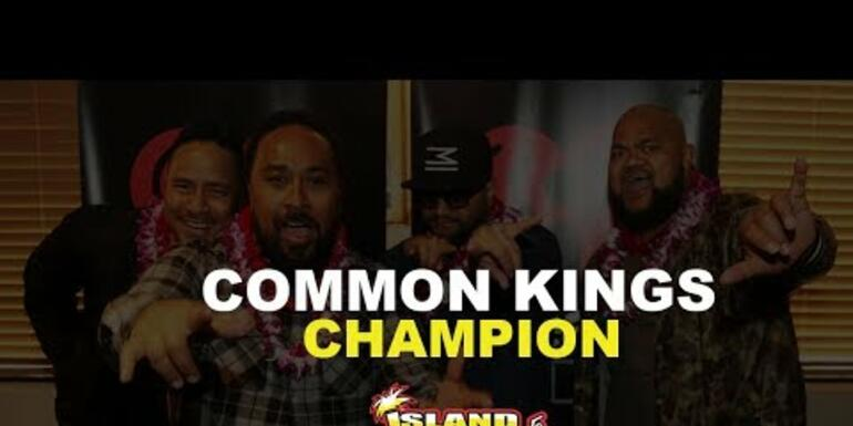 Common Kings Perform Champion for the first time!
