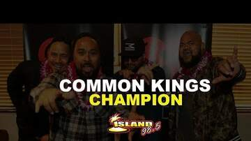 Wake Up Crew - Common Kings Perform Champion for the first time!