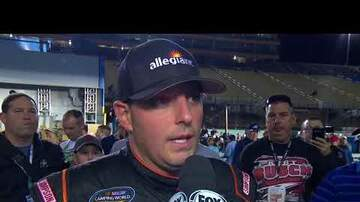 NASCAR - Johnny Sauter finishes third in Camping World Truck Series finale