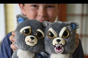 Cute Toy That Turns Evil Scares the Crap Out of Kid