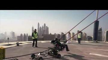 Jimmy Elliott - WATCH: Dubai Human Slingshot Stunt Goes Viral