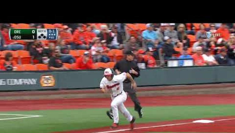 Beavs hold on to beat Ducks 2-1 go for sweep today!