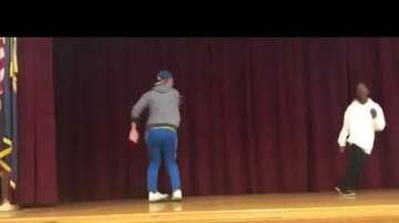 Hip Hop Rap Music Dances - Teacher Owns Student In Dance Off