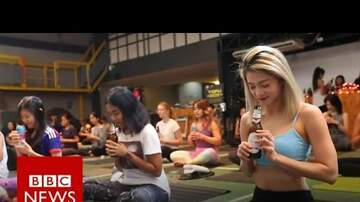 Man Stuff - Latest Fitness Craze - Beer Yoga