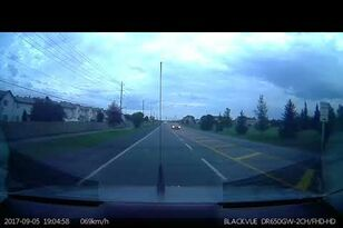 Car Goes Airborne and Crashes Into Traffic Light