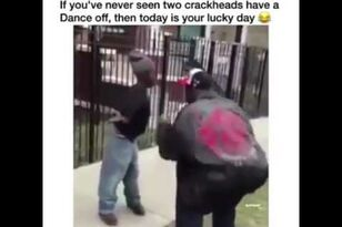 Crackhead Dance Off!