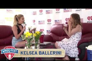 Kelsea Ballerini Interview Backstage at WMZQ Fest