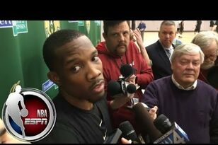 Eric Bledsoe not interested in questions about Terry Rozier