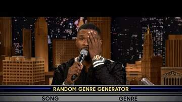 The Big Man Konata - Jamie Foxx Kills The Musical Genre Challenge On The Tonight Show