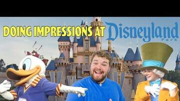 Ginger G - Impressions of characters at Disney Land