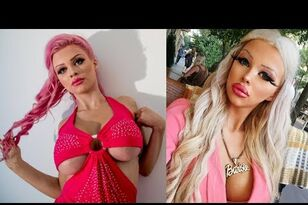 Teen Spends $1500 A Month To Become Barbie