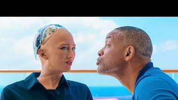 image for Will Smith Goes On A Date With Sophia the Robot!