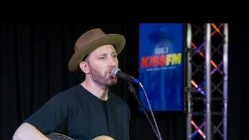 Hunter Quinn - Mat Kearney Visits KISS FM