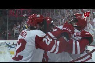 UW Hockey: Highlights: Wisconsin sweeps Michigan