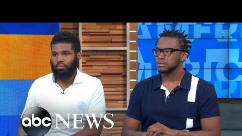 {VIDEO} 2 Black Men Arrested in Starbucks SPEAK OUT