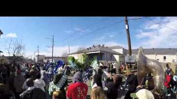 LBJ - Ladies & Men of Unity Second Line Parade Today