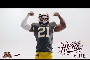 The Gophers just dropped some new H.Y.P.R.R. Elite football jerseys