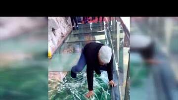 Mary Jane - Glass bottom bridge cracks while walking on it