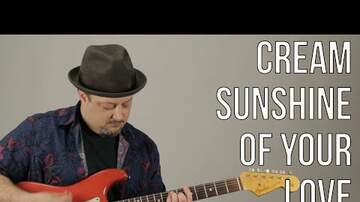 How To Play - How To Play Sunshine of Your Love By Eric Clapton On Guitar Tutorial