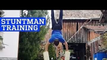 Jenn - Stuntman Training