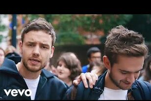 Liam Payne and Zedd Throw A Dance Party In London