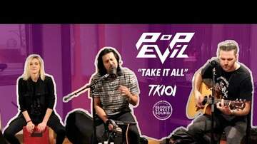 Pepsi Performance Studio - TK101 - Pop Evil - Footsteps